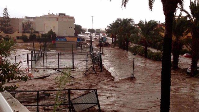 Estudio inundaciones científicos málaga levante almería agua riadas trastornos