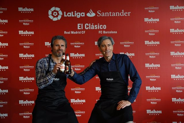 Rafa Alkorta y el Lobo Carrasco