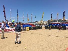 Los campeones del mundo de tenis playa se darán cita en el Open de Gran Canaria Nissan ITF Beachtennis Tour 2017