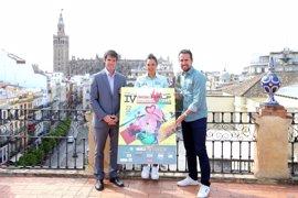 Un total de 800 deportistas con la presencia de internacionales en la IV media Triatlón de Sevilla