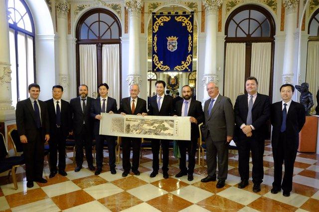Delegación china ciudad de Zhengzhou andalucía smart city