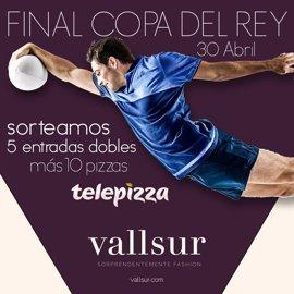 Vallsur sortea cinca entrada dobles para la final de la Copa del Rey de Rugby