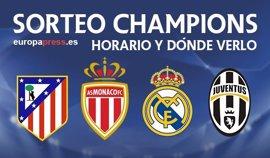 Horario y dónde ver el sorteo de semifinales de Champions League 2017