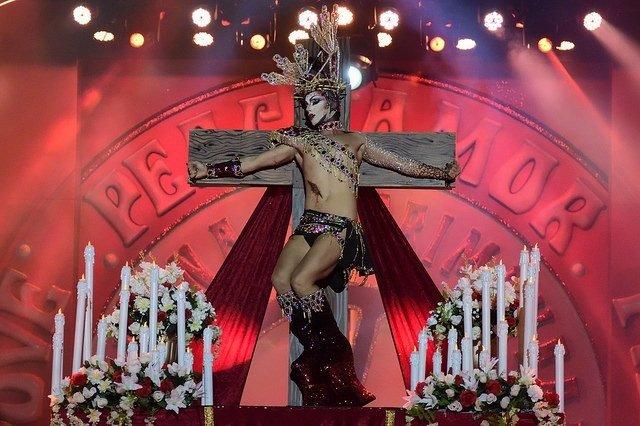 El ganador de la Gala Drag del Carnaval de Las Palmas de Gran Canaria 2017