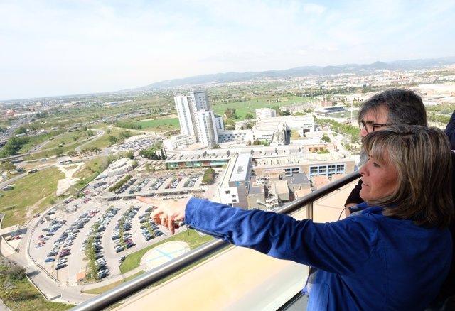 La alcaldesa N.Marín presenta las actuaciones para el soterramiento de la C-31
