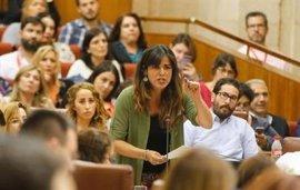 Teresa Rodríguez reta a Susana Díaz a apoyar una moción de censura contra Rajoy si gana las primarias