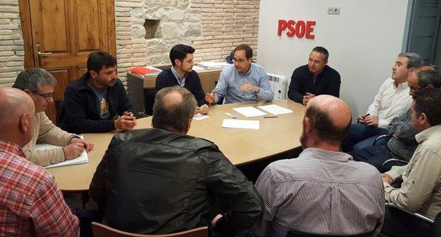 Reunión sindicatos centro penitenciario Logroño