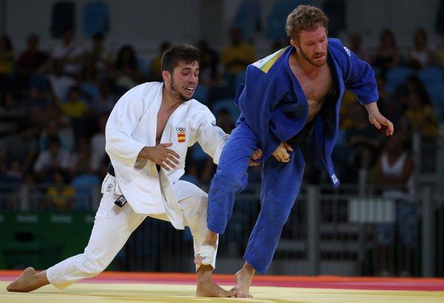 Francisco Garrigós judo Juegos Olímpicos Río alemán Englmaier