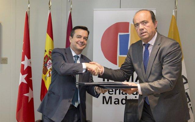 Ifema Y La Asociación De Campos De Golf De Madrid Firman Un Acuerdo De Colaborac