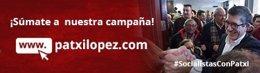 Campaña redes sociales de Patxi López