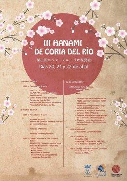 Cartel del III Hamami de Coria.
