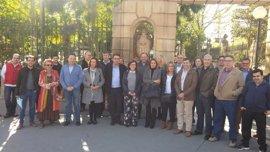 Angulo presenta su precandidatura para continuar al frente del PP de Soria