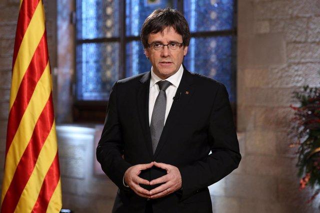 Mensaje de fin de año del pte.C.Puigdemont.