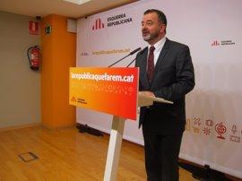 """ERC de Barcelona acusa a Colau de pedir un """"cheque en blanco"""" en Glòries"""