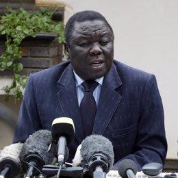 Morgan Tsvangirai, líder opositor