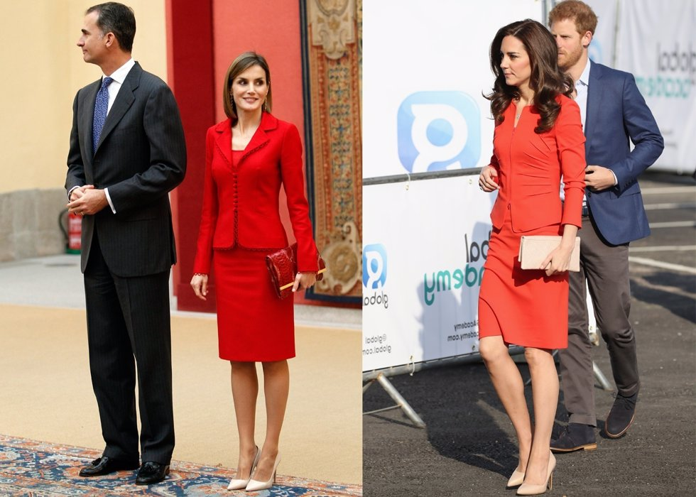 REINA LETIZIA Y KATE MIDDLETON