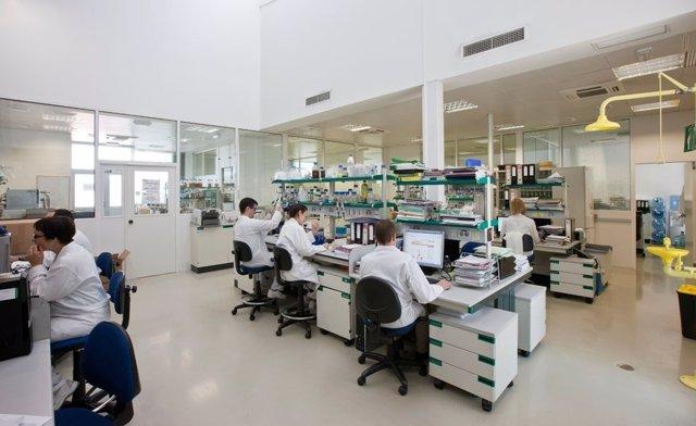 Un laboratorio de investigación
