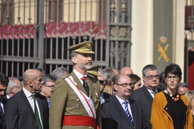 Su Majestad el Rey ha presidido el acto solemne de la AGM.