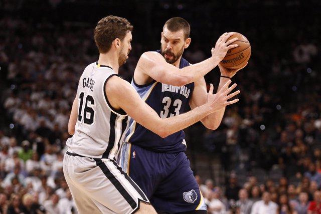 San Antonio Spurs Memphis Grizzlies Pau Marc Gasol