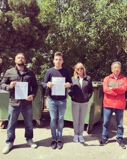 Los socialistas denuncian el estado de abandono de Cala d'Or Park