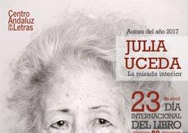 La Junta celebra este sábado en Sevilla el acto central del Día del Libro dedicado a Julia Uceda