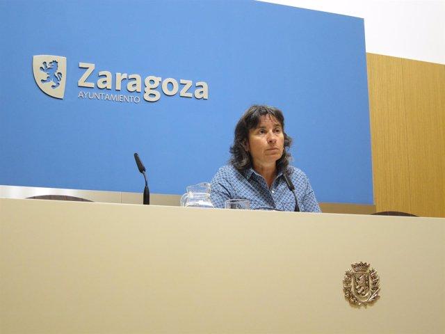 Luisa Broto, vicealcaldesa de Zaragoza