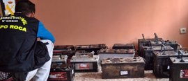 Tres detenidos por una decena de robos en canteras de la comarca de La Serena