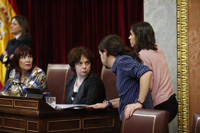 Gloria Elizo, de Podemos