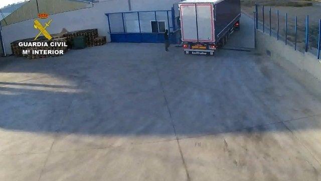 Desarticulada una red que robaba camiones para vender la mercancía