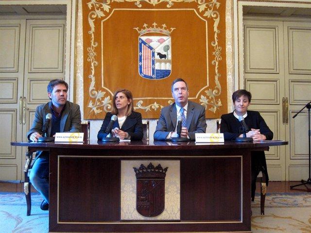 Presentación de la segunda edición de la Lanzadera de Empleo en Salamanca