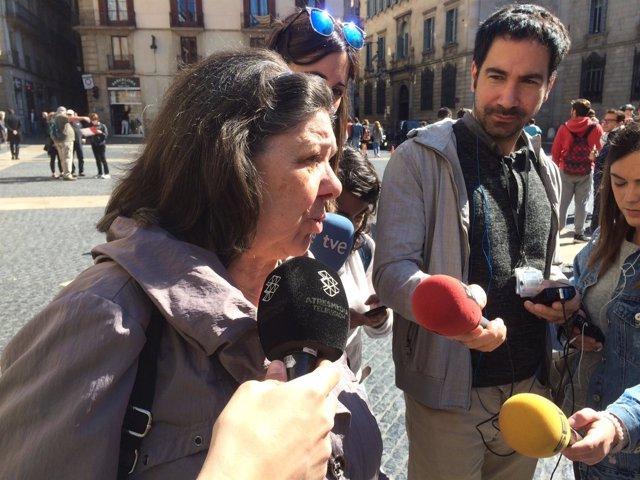 La diputada de la CUP en el Parlament Gabriel Serra