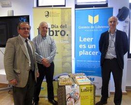 Descuentos de un 10%, dulces y música se citan en el Día del Libro de Valladolid