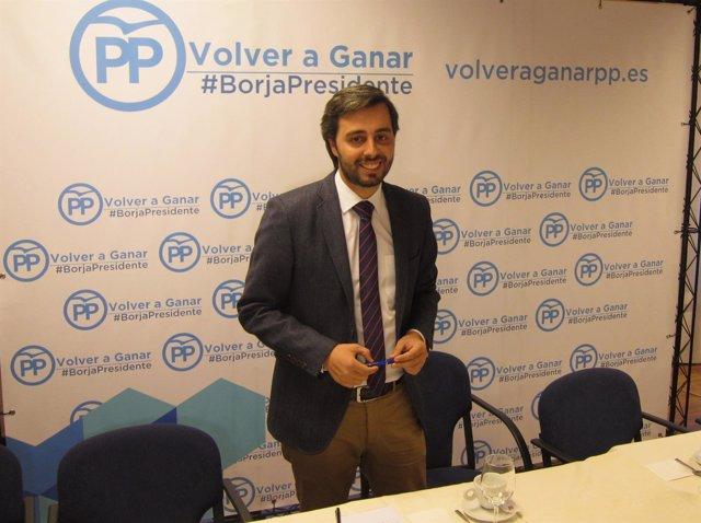 El candidato a presidir el PP de Valladolid Borja García Carvajal
