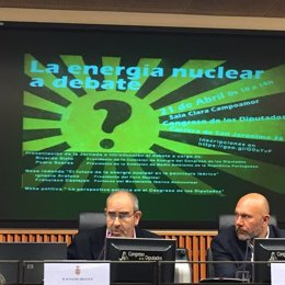 Presidente de Foro Nuclear, Ignacio Araluce, en el Congreso