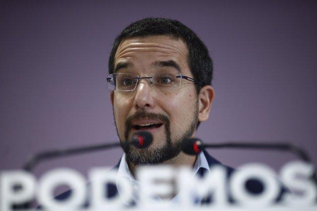 Sergio Pascual, secretario de Organización de Podemos
