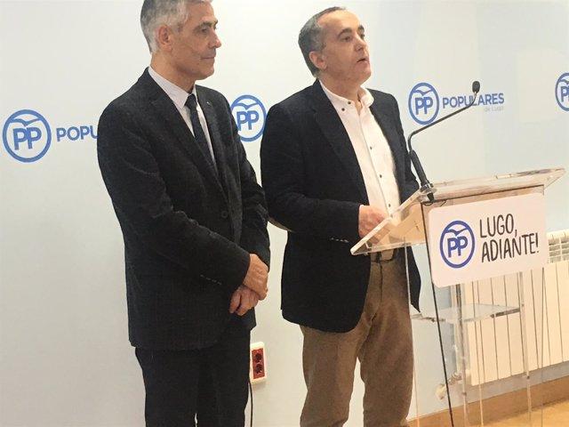 Ramón Carballo anuncia su candidatura en Lugo