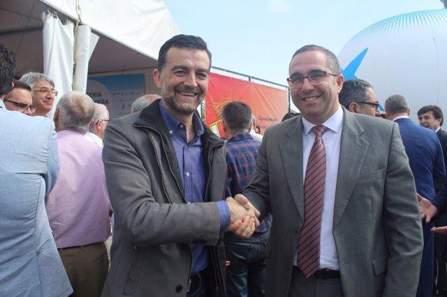 Antonio Maíllo y Juan Manuel Valle
