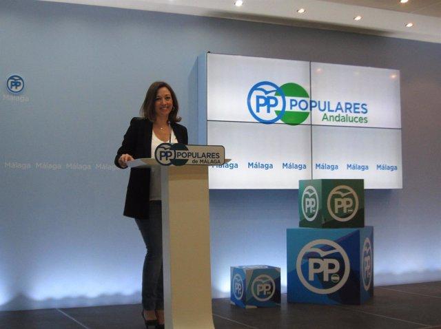 Patricia Navarro En Rueda De Prensa (PP-A)