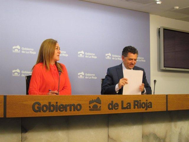 Consejo de Gobierno con Martínez Arregui y Cuevas