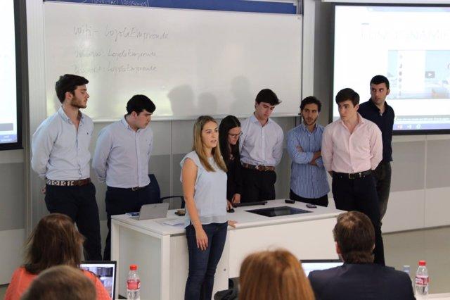 Clausura de la II edición del programa Akademia de Loyola y Bankinter