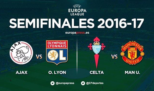 Semifinals Europa League Celta
