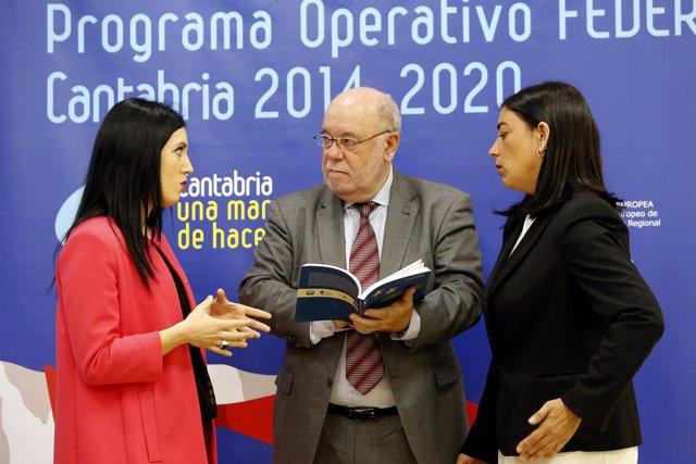 11:30 Sala De Prensa Del Gobierno De Cantabria El Consejero De Economía, Haciend
