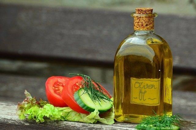 Aceite, tomate, ensalada, dieta