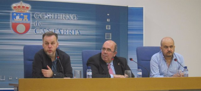 Antonio Lucio, Jesús Oria Y Sergio Serdio