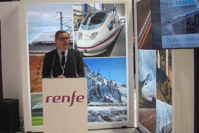 El Director Comercial De Renfe, Francisco Cañamer