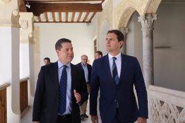 Rivera brinda su apoyo a la reforma del Estatuto de Autonomía que Page llevará al Congreso