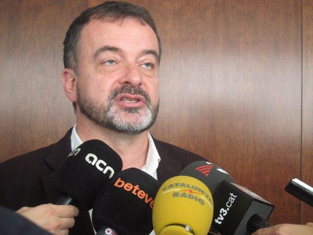 El líder d'ERC a Barcelona, Alfred Bosch