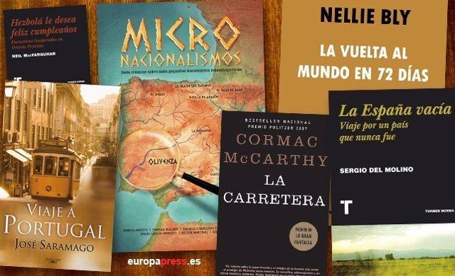 Libros que invitan a salir de viaje
