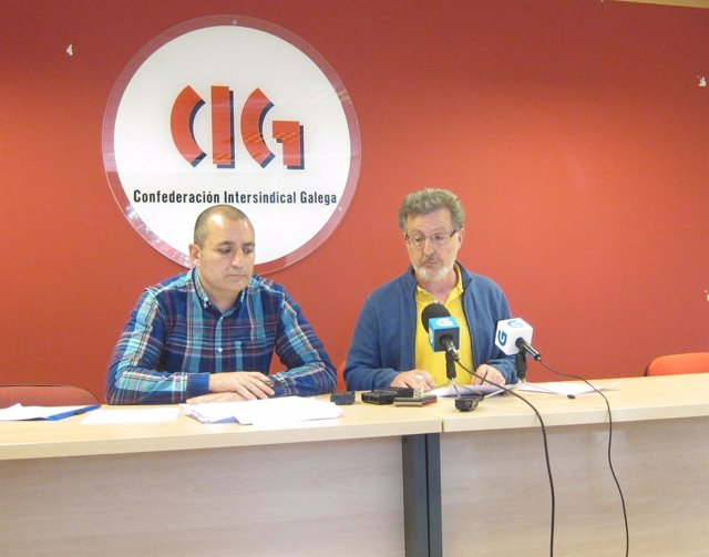 Clodomiro Montero y Suso Seixo (CIG)