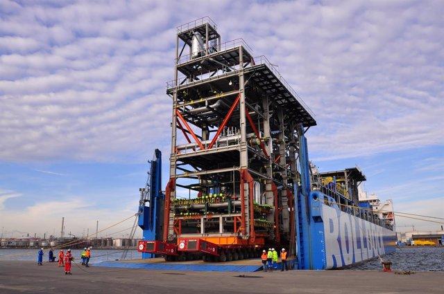 Project cargo en el Puerto de Tarragona